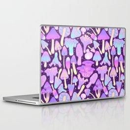 Spooky Mushroom Hunt Laptop & iPad Skin