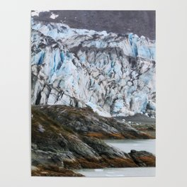 Glacier Bay National Park Alaska Wilderness Poster