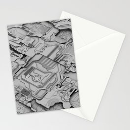 White Silicon Stationery Cards