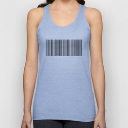 Barcode Pattern - by Rui & Cheryl Unisex Tank Top