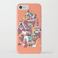 cabin iPhone & iPod Cases featuring Farrier's Cabin by C86 | Matt Lyon