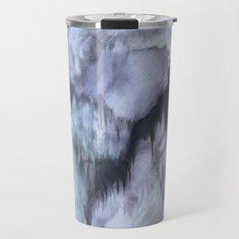 Haunted Quartz Purple Geometric Painting Travel Mug