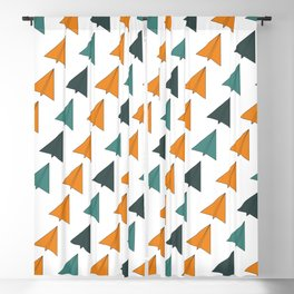 Origami Planes Blackout Curtain
