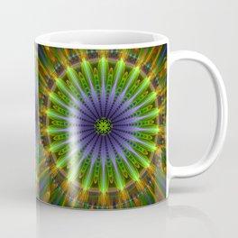 Mandala of happiness, fractal abstract Coffee Mug