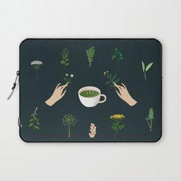 Magical Herbal Tea Laptop Sleeve