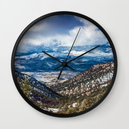 Lost in Reno Wall Clock