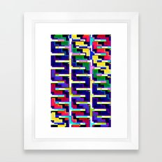 Rainbow Snake Framed Art Print