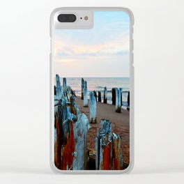Sentinels at Sunset Clear iPhone Case
