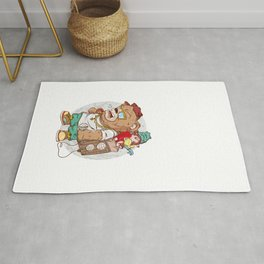Masha and Bear Rug