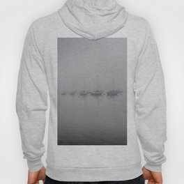 Yachts In The Fog Hoody
