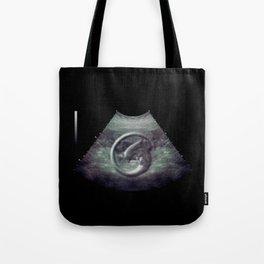 Alien on board - Ultrasound Tote Bag