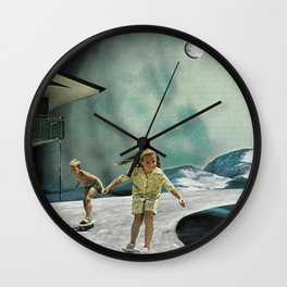 Space Sesh Wall Clock