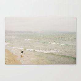 Hazy Surf Canvas Print