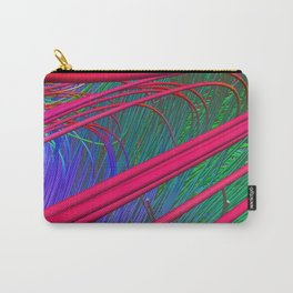 Fibers Crossing Carry-All Pouch