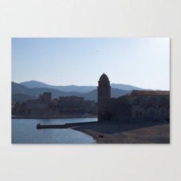 l'Église Notre-Dame des Anges, March, 2012, Collioure, Languedoc-Roussillon, France Canvas Print