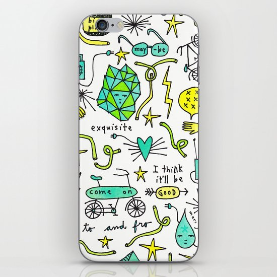 to and fro iPhone & iPod Skin