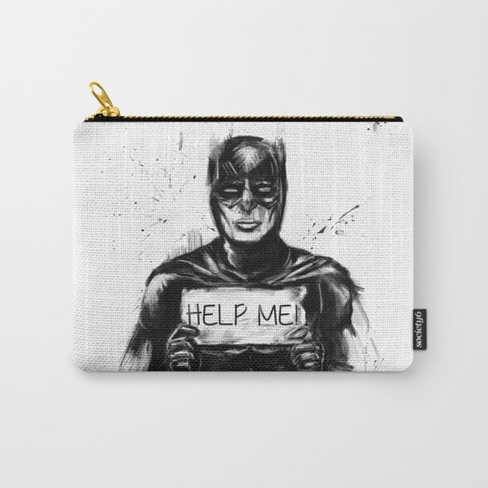 help me! Carry-All Pouch