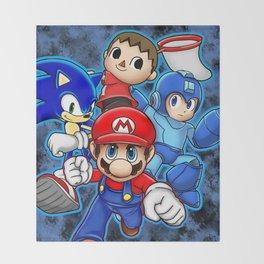 Super Smash Bros  Throw Blanket