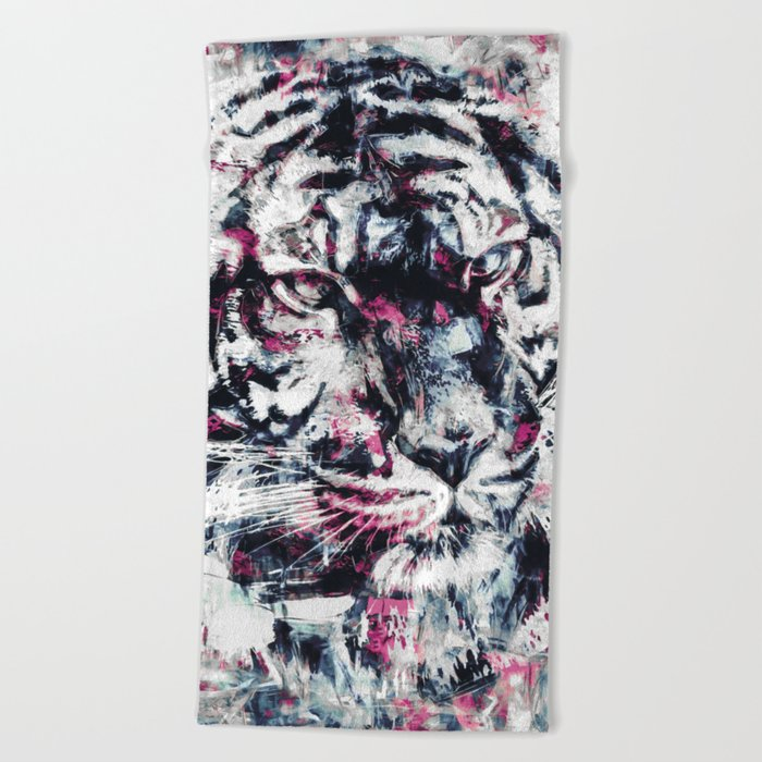 TIGER IV Beach Towel