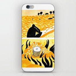 Yellow iPhone Skin