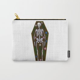 Skeleton Coffin Carry-All Pouch