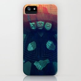 Three Storms iPhone Case