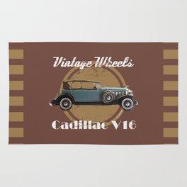 Vintage Wheels - Cadillac V16 Rug