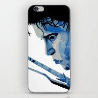 edward scissorhands iPhone & iPod Skins featuring Edward Scissorhands by OnaVonVerdoux