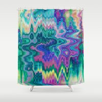 trippy Shower Curtains featuring Trippy by Dorothy Pinder