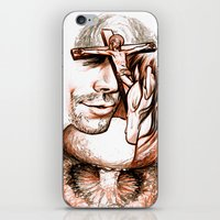 apocalypse now iPhone & iPod Skins featuring Apocalypse kiss by Salgood Sam