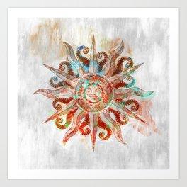 My God is the Sun Art Print