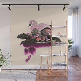 Pair of Mandarin Ducks Wall Mural