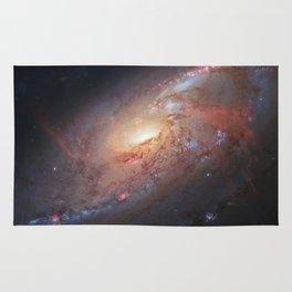 Spiral Galaxy M 106 Rug