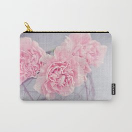 Pale Pink Carnations Carry-All Pouch