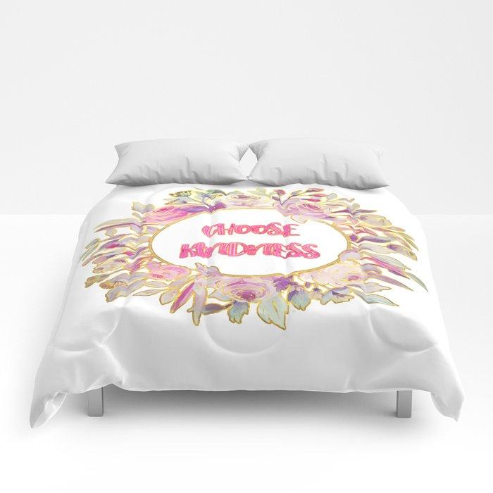 Choose Kindness Comforters