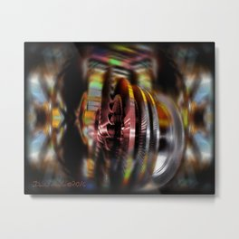 turbulent epoch I  Metal Print