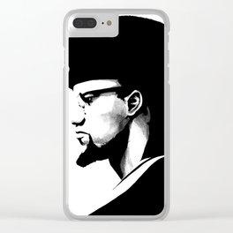Malik El-Shabazz Clear iPhone Case