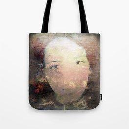 Catalina's Portrait / Retrato artístico de Catalina Tote Bag