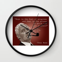 """Hope"" Wall Clock"