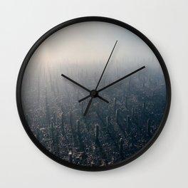 Megacity TWO Wall Clock