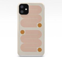 Abstraction_SUN_LINE_ART_Minimalism_002 iPhone Case