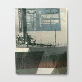 World Trade Center Collage Metal Print