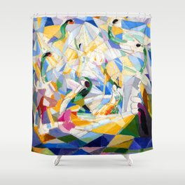 Joseph Stella Four Shower Curtain