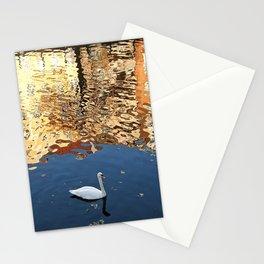 Reflector Swan III Stationery Cards