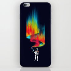 Space vandal iPhone Skin