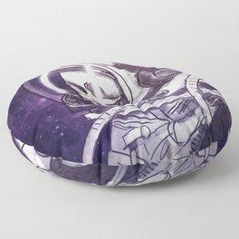 Skelenaut II Floor Pillow