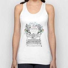 Intelligent Fool Unisex Tank Top