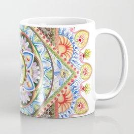 Passion Flower Mandala Coffee Mug