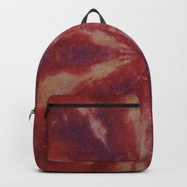 Tie Dye Red Orange Purple Backpack