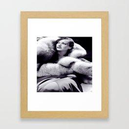 Joan Framed Art Print